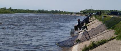 Karšių žvejyba Skirvytėje